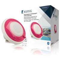 Haut-parleur Bluetooth flottant et étanche rose