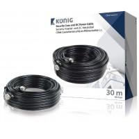 Câble coaxial de sécurité et d'alimentation c.c. RG59 30,0 m