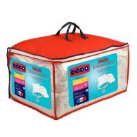 DODO Pack UNIVERSITY 1 couette tempérée 220x240 + 2 oreillers moelleux 60x60