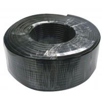 Câble coaxial RG59 avec alimentation CC sur bobine 100m