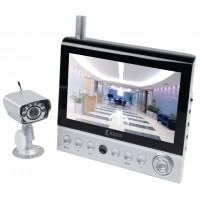 """Système de caméra sans fil avec moniteur LCD 7"""""""