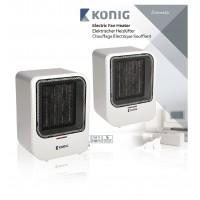 Chauffage électrique soufflant 1500W avec protection anti-basculement