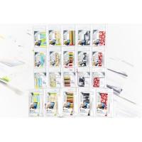 Kit de nettoyage/gomme pour écran à rayures