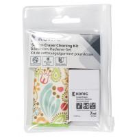 Kit de nettoyage/gomme pour écran à motif floral