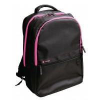 """Sac à dos pour ordinateur portable 15"""" / 16"""" coloris rose vif"""