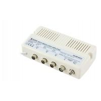 Amplificateur multimédia 10dB, 3 sorties voie