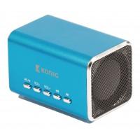 Haut-parleur portable MP3 bleu