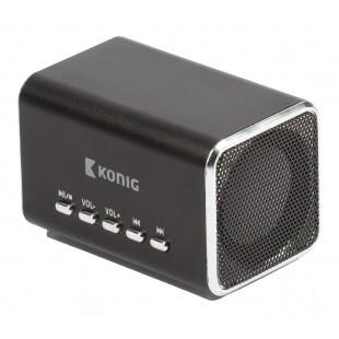 Haut-parleur portable MP3 noir