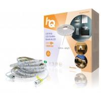 Bande de LED blanc chaud facile à poser en intérieur/extérieur 1600lm 5m