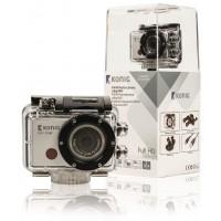 Caméra embarquée Full HD 1080p avec boîtier étanche et WiFi
