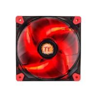 THERMALTAKE Luna 12cm LED Rouge - Ventilateur 120mm pour boitier