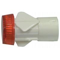 Lampe de signal rouge