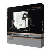 Lampes LED pour mini studio photo 40x 40x 40cm