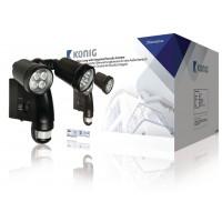 Lampe d'extérieur Konig avec caméra intégrée et capteur de mouvement
