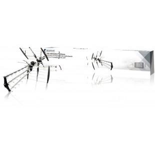 37471 antenne tv vhf ext rieure dvb t tv vhf uhf radio fm 14db antenne tv et radio. Black Bedroom Furniture Sets. Home Design Ideas