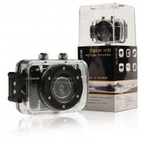 Caméra embarquée HD 720p avec écran tactile 2 pouces