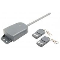 Kit de sécurité à radiofréquence extérieur pour la domotique, avec 2télécommandes et code tournant