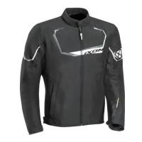 IXON Blouson moto Challenge - Homme - Noir et blanc