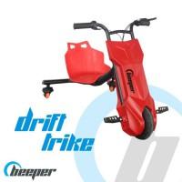 BEEPER RDT100-R7 Driftrike électrique enfant 12V 100W 7Ah Rouge
