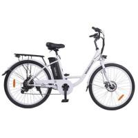 Velobecane Easy Vélo électrique blanc - Freins disque - No name