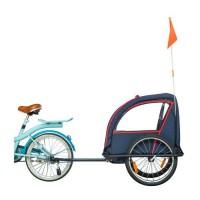 Remorque enfant vélo Bike Original série 100 indigo + éclairage