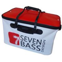 SEVEN BASS - BAKKAN SOFT BLANC ET ROUGE 86