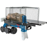 SCHEPPACH Fendeuse de bûches hydraulique HL460 - 230V 50Hz 1500W - 4 temps - Noir et bleu