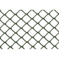 NATURE Grillage pour parterre - HDPE vert - Maille losange 20 mm - 0,5x3 m