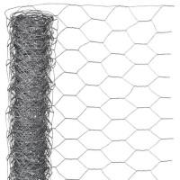 NATURE Maille hexagonale en acier galvanisé - Ø 13 mm - 1x5 m