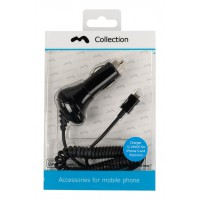 Chargeur 12-24V foudre pour iPhone 5 Black MFi