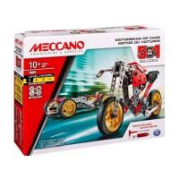MECCANO Voiture et moto - 5 modeles
