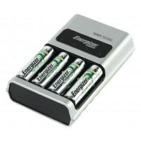 1-Hour Chargeur , Euro plug, + 4x HR6 2300mAh
