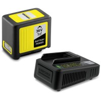 KARCHER Set batterie Power 36V / 5 Ah + chargeur rapide