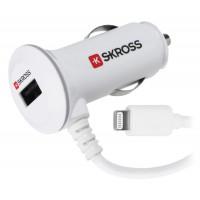 Mini chargeur USB de voiture PLUS avec connecteur Lightning