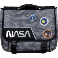 NASA Cartable - 38 cm - Noir
