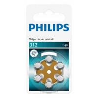 Minicellules Batterie PR41 / onglet brun 6-blister