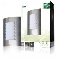 Lampe murale avec détecteur jour/nuit E27 IP44