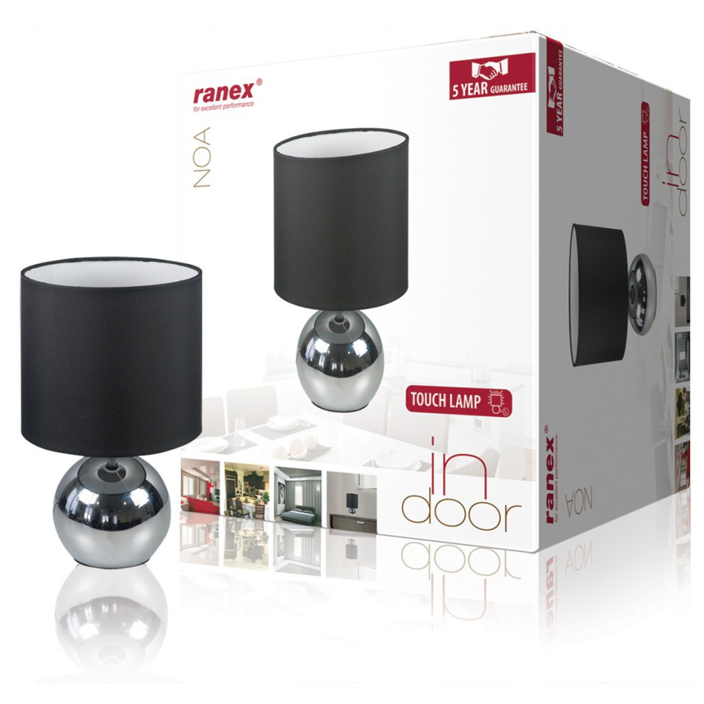 38404 lampe de table noa avec fonction tactile type - Table de salon avec ecran tactile ...