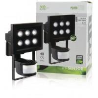 6 LED outdoor lamp with detection sensor 6 lampe led extérieur avec le capteur de détection
