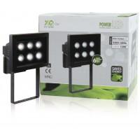 Aluminium LED (6x) extérieur noir de fumée