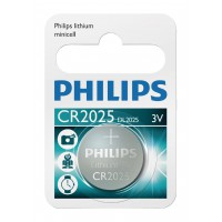 Pile Bouton Lithium CR2025 sous blister