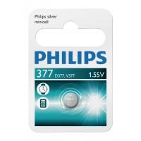 Batterie Minicells Argent 377 1-ampoule