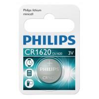 Minicellules Batterie lithium CR1620 1-blister