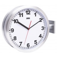 Horloge de station double face