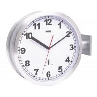 Horloge murale à émetteur double face