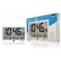 Horloge murale radio-pilotée en LCD