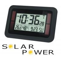 Horloge LCD solaire radiocommandée