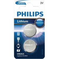 CR2025 Lithium Battery Minicells 2-blister