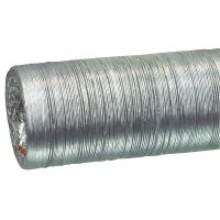 Tuyau de sortie en flexible d'aluminium127 mm 10.0 m