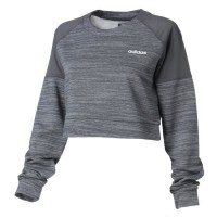 Crop Sweat Xpr Gris anthraci S